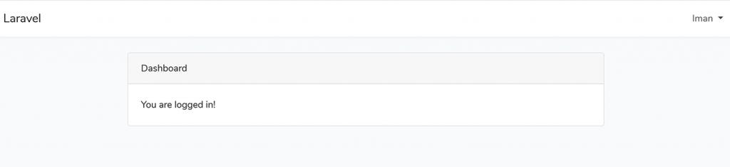 تأیید ایمیل در لاراول