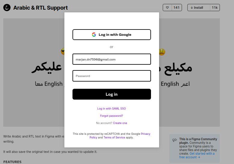 نصب پلاگین Arabic & RTL Support