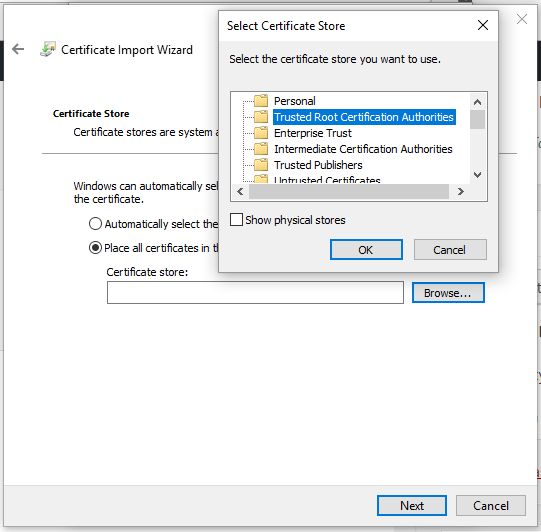 نصب SSL بر روی لوکال هاست